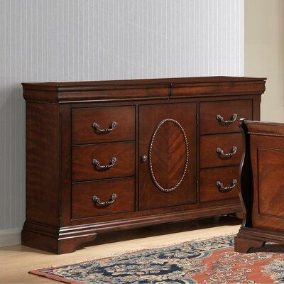 Babette 8 Drawer Combo Dresser