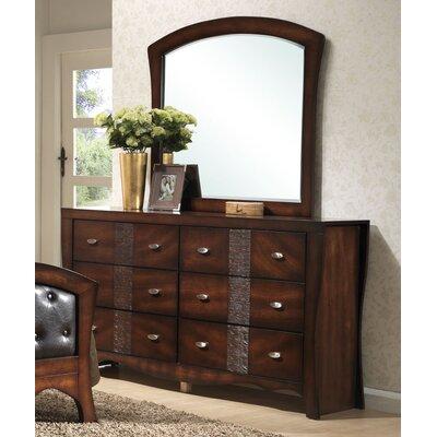 Jenny 6 Drawer Dresser with Mirror