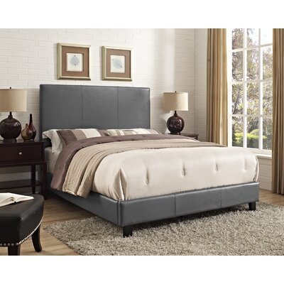 Jana Queen Upholstered Panel Bed Color: Magnetite