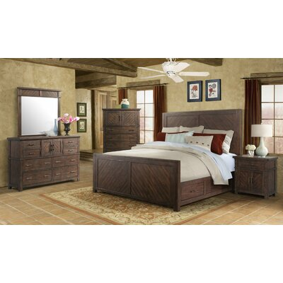 Hageman Storage Platform Bed Size: King