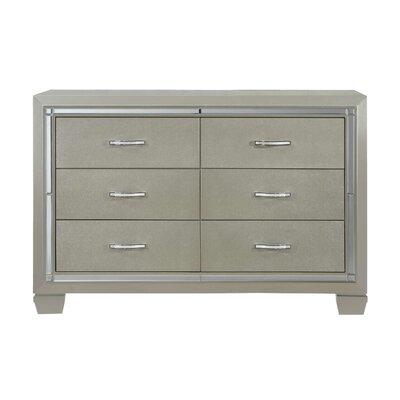 Rocky 6 Drawer Dresser