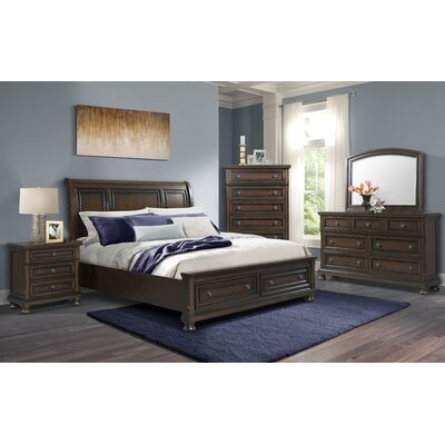 Beadling Panel 8 Piece Bedroom Set