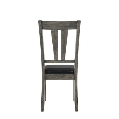 Calliope Side Chair with Upholstered Seat