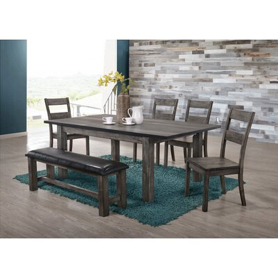Calliope  6 Piece Dining Set