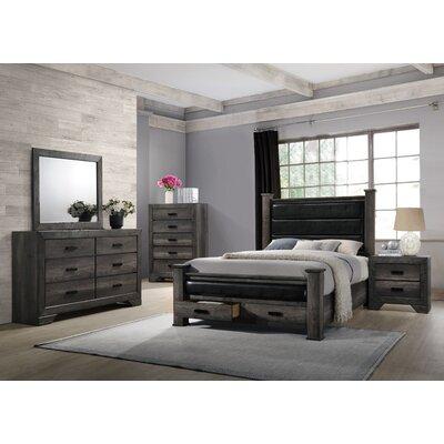 Calliope Storage Panel Customizable Bedroom Set
