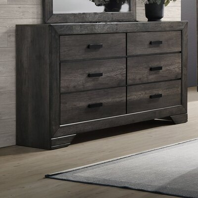 Calliope 6 Drawer Double Dresser