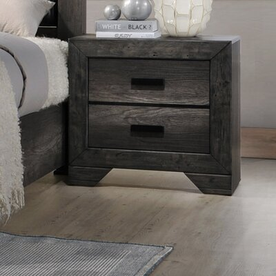 Calliope 2 Drawer Nightstand