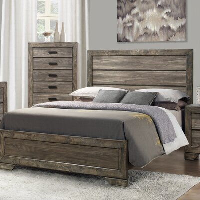 Calliope Panel Bed