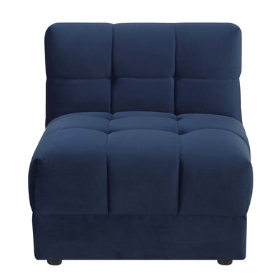 Epsom Chair Color: Navy Blue