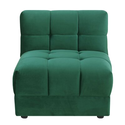 Epsom Chair Color: Emerald