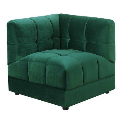 Epsom Corner Wedge Color: Emerald