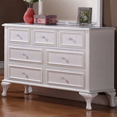 Consuelo 7 Drawer Standard Dresser/Chest
