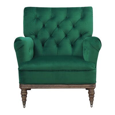 Botsford Armchair Upholstery: Emerald