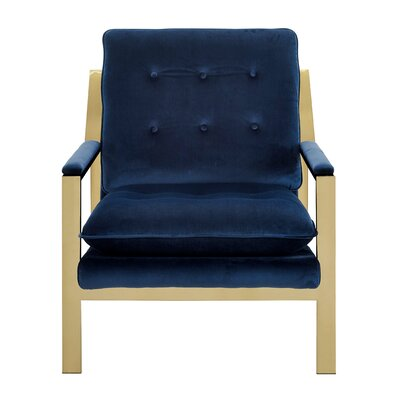 Heanor Armchair Upholstery: Navy Blue