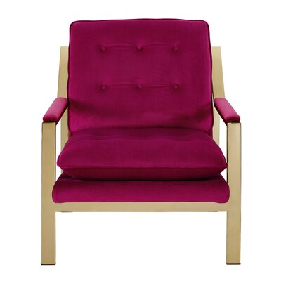 Heanor Armchair Upholstery: Cranberry