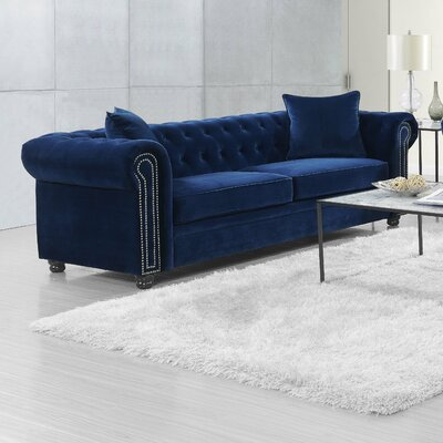 Heathfield Sofa Upholstery: Navy Blue