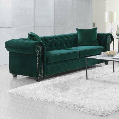 Heathfield Sofa Upholstery: Emerald
