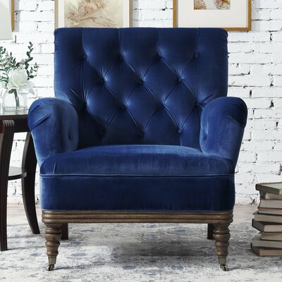 Botsford Armchair Upholstery: Navy Blue