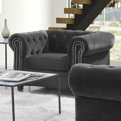 Heathfield Armchair Upholstery: Slate