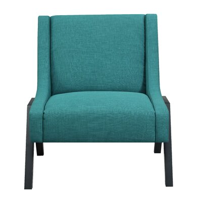 Fredia Slipper Chair Upholstery: Teal