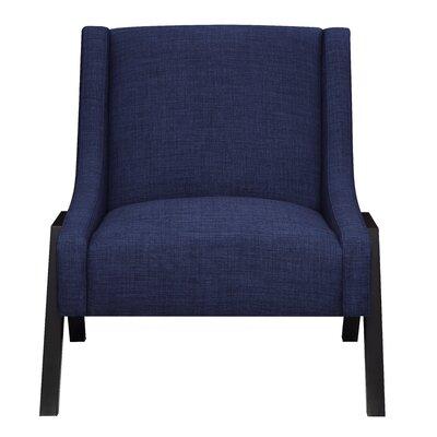 Fredia Slipper Chair Upholstery: Navy