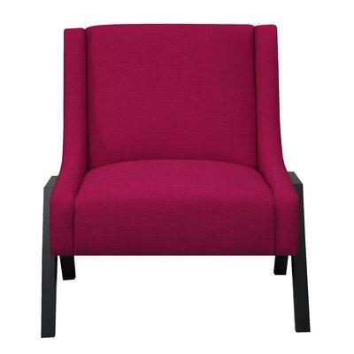 Fredia Slipper Chair Upholstery: Berry