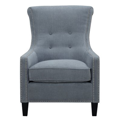 Norton Armchair Upholstery: Cornflower Blue
