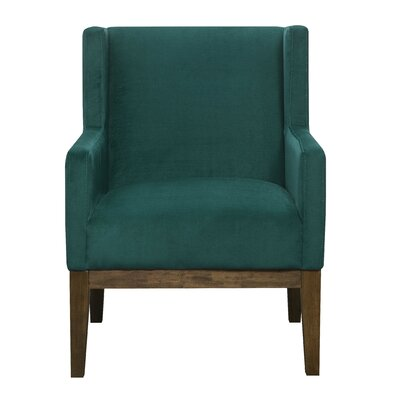 Johnny Wingback Chair Upholstery: Teal