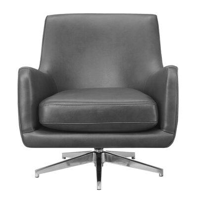 Lyon Swivel Armchair Upholstery: Lividity