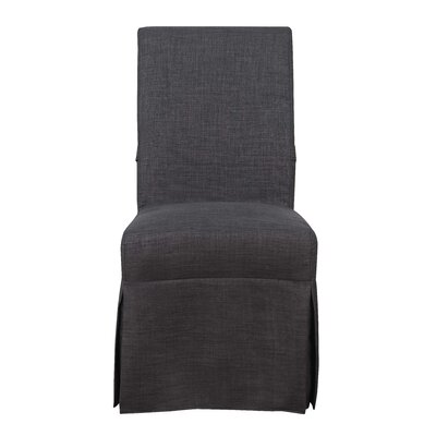 Benton Parsons Upholstered Dining Chair Upholstery Color: Charcoal