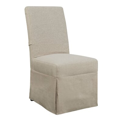 Benton Parsons Upholstered Dining Chair Upholstery Color: Natural