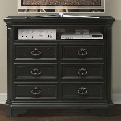 Eloisee 6 Drawer Media Chest