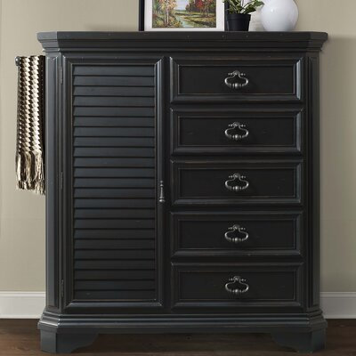 Eloisee 5 Drawer Gentlemens Chest