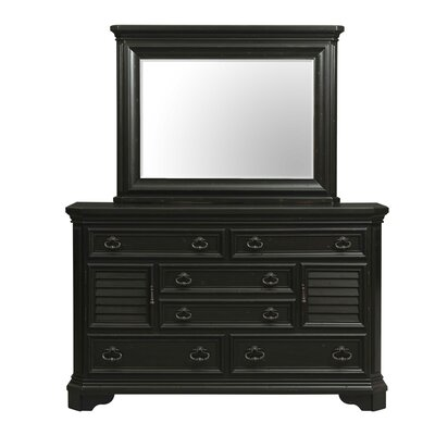 Eloisee 6 Drawer Dresser with Mirror