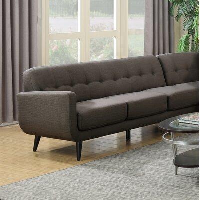 Goldberg Sofa Color: Charcoal