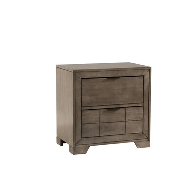 Baskerville 2 Drawer Nightstand