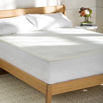 Wayfair Basics 1 Memory Foam Mattress Topper Size: King