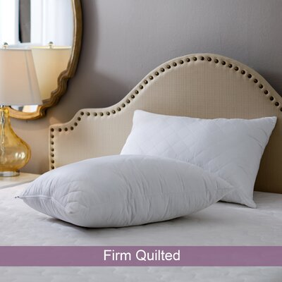 Wayfair Sleep Firm Quilted Pillow Size: Standard