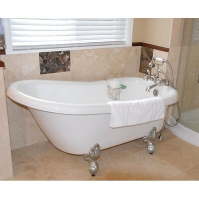 Ambassador 60 x 30 Bathtub Color: White