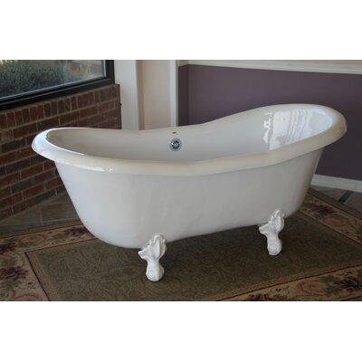 Duchess 68 x 30 Bathtub Color: White