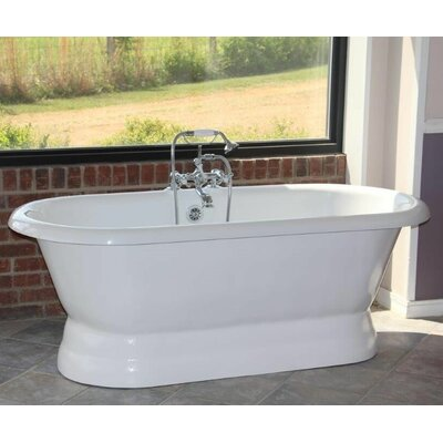 "Majesty 66"" x 30"" Freestanding Bathtub"