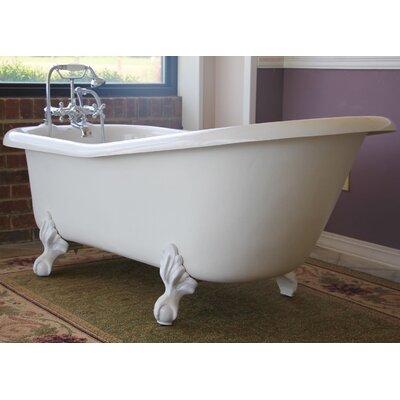 Imperial 66 x 30 Bathtub Color: White
