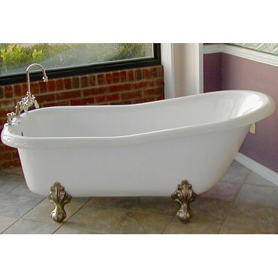 Imperial 66 x 30 Bathtub Color: Chrome