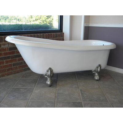 Ambassador 60 x 30 Bathtub Color: Brushed Nickel