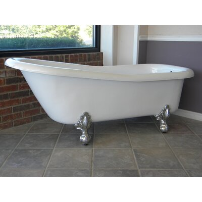 Imperial 66 x 30 Bathtub Color: Chrome