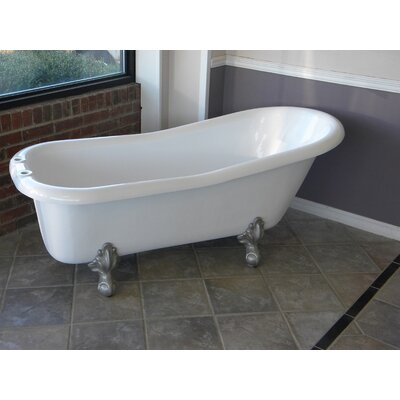 Imperial 66 x 30 Bathtub Color: Brushed Nickel