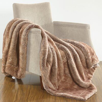 Luxury Over-Sized Throw Blanket Color: Otter