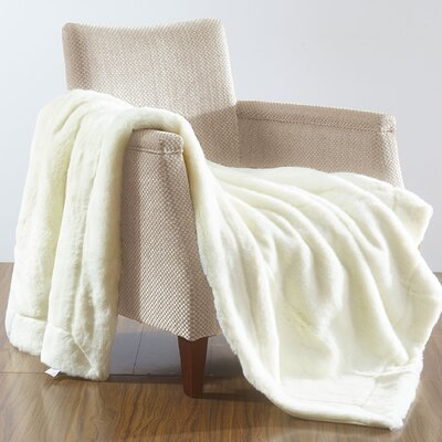 Grenville Over-Sized Throw Blanket Color: Polar Bear