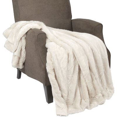Single Sided Polyester Throw Blanket