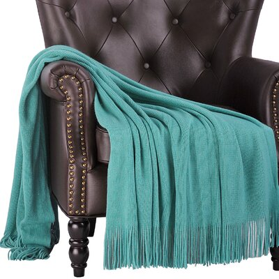 Araceli Glitter Knitted Throw